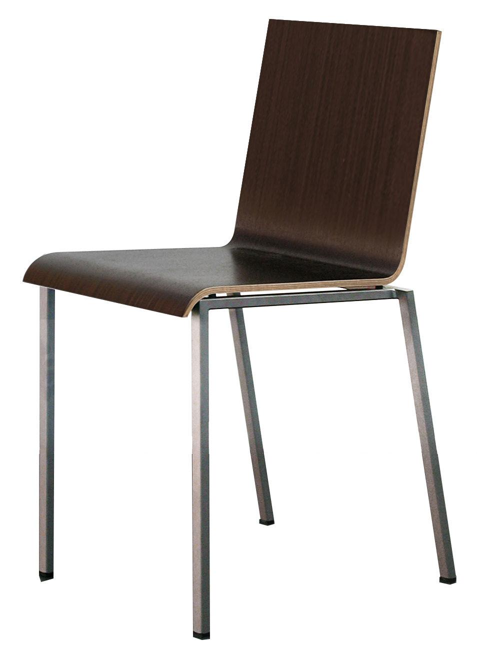 Bianca sedia versione legno weng by zeus made in design - Sedia bianca legno ...