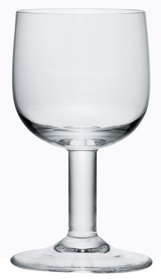 Tableware - Glasses - Glass family Water glass by A di Alessi - Transparent glass - Glass