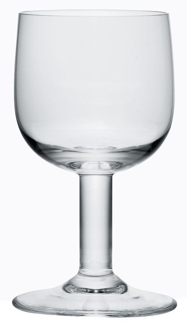Scopri bicchiere da acqua glass family vetro trasparente for Acqua design italia