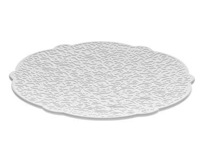 Soucoupe Dressed pour tasse à café - Alessi blanc en céramique