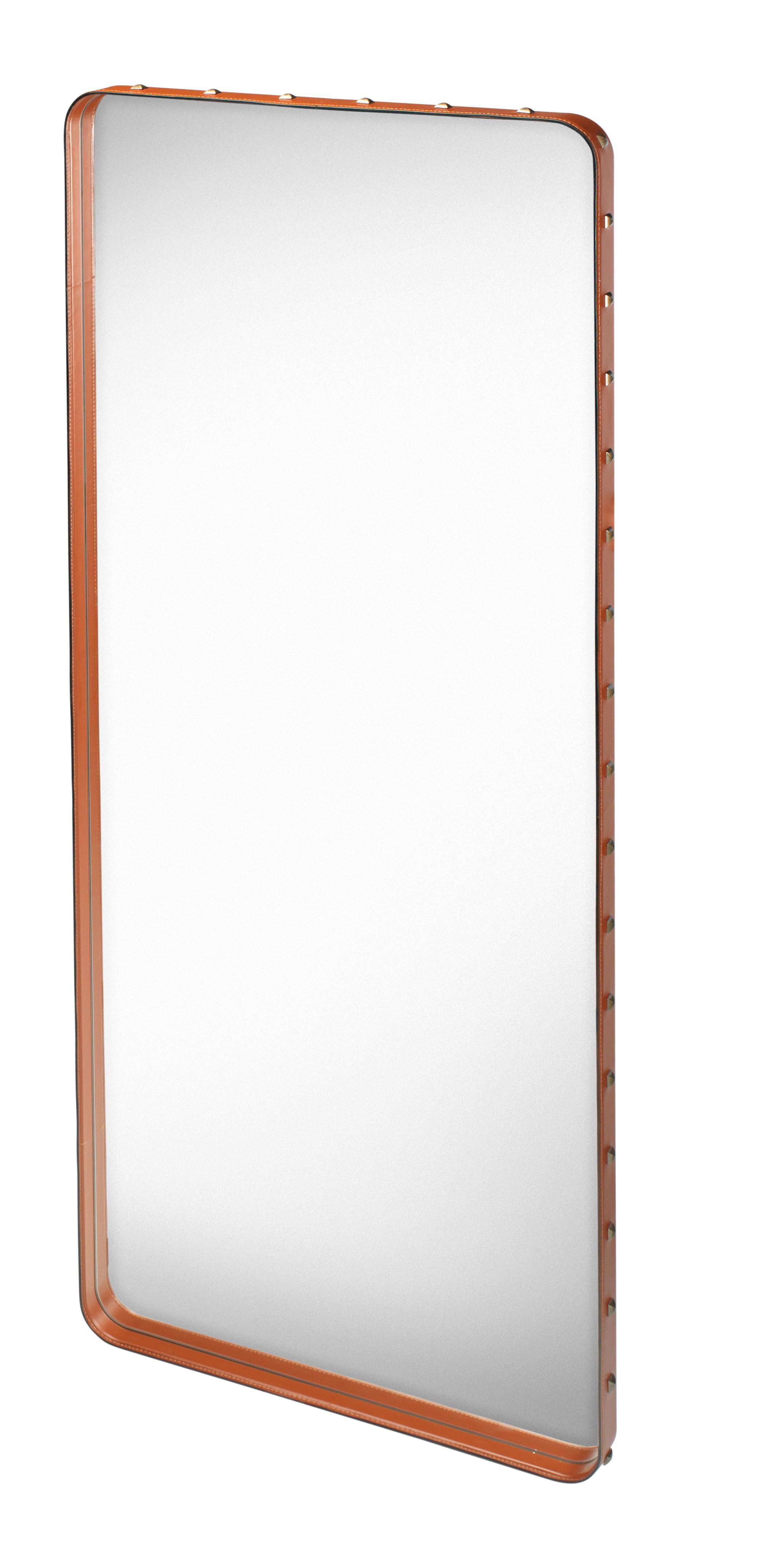Miroir mural adnet 115 x 70 cm r dition 50 39 cuir for Miroir 50 x 75