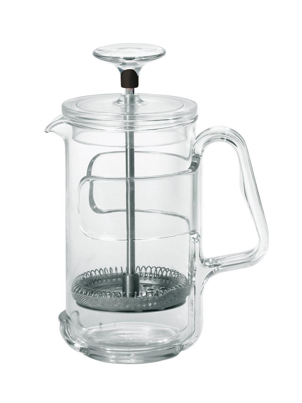 cafeti re piston in fusion pour caf et th 3 tasses 3 tasses noir guzzini. Black Bedroom Furniture Sets. Home Design Ideas