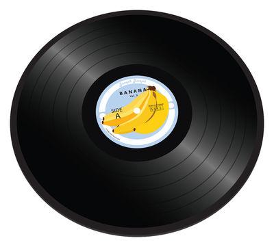 Arts de la table - Plateaux - Planche à découper Banana vinyl / Plateau verre - Ø 30 cm - Joseph Joseph - Banana Vinyl - Verre