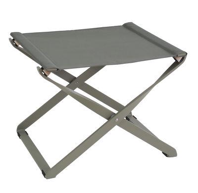 Pouf Ciak Repose pieds Pliable Emu gris en métal
