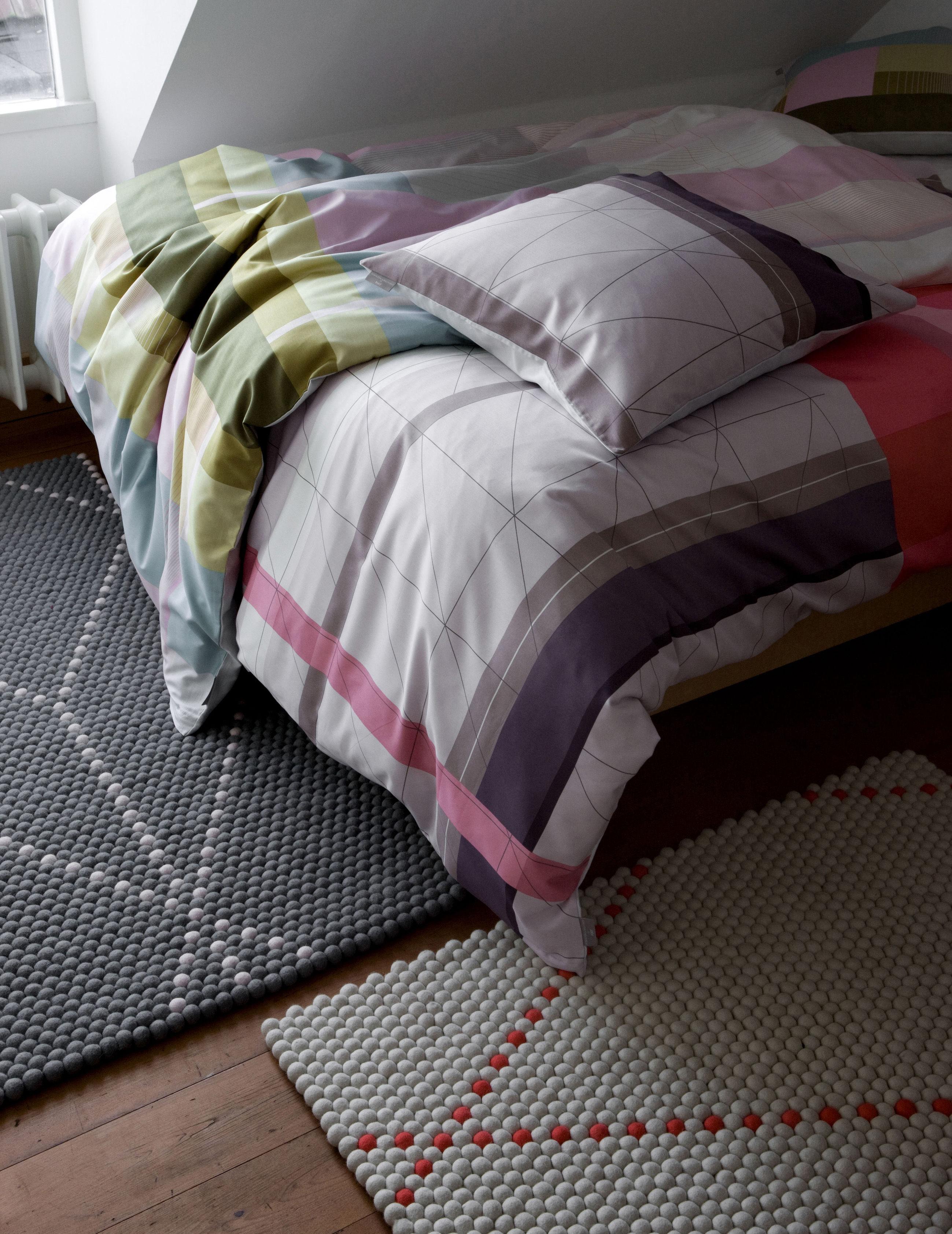 parure de lit 1 personne s b colour block 140 x 200 cm. Black Bedroom Furniture Sets. Home Design Ideas