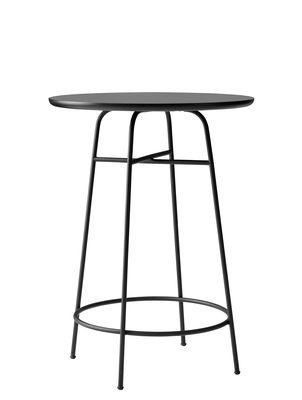 Mobilier - Mange-debout et bars - Mange-debout Afteroom / Ø 68 x H 92 cm - Menu - Noir - Acier, MDF