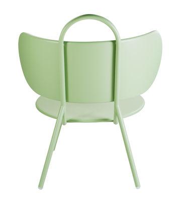 fauteuil bas swim m tal int rieur ext rieur vert clair bibelo. Black Bedroom Furniture Sets. Home Design Ideas
