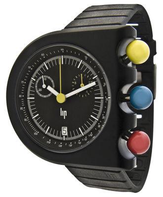 Accessori moda - Orologi - Orologio da polso Dark Master di Lip - Nero - Alluminio, Gomma