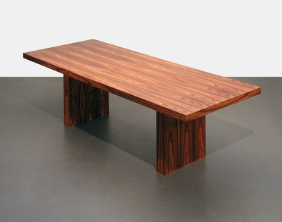 table tommaso palissandre 230 x 90 cm l 230 cm. Black Bedroom Furniture Sets. Home Design Ideas