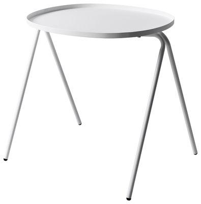 Tavolino d'appoggio Afteroom di Menu - Bianco - Metallo