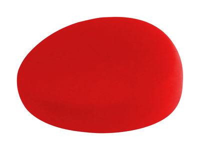 Foto Chauffeuse Nénuphares Né - / divano - Larg 132 cm di Smarin - Rosso - Tessuto
