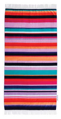 Drap de bain Hamilton 90 x 175 cm Coton éponge Sunnylife multicolore en tissu