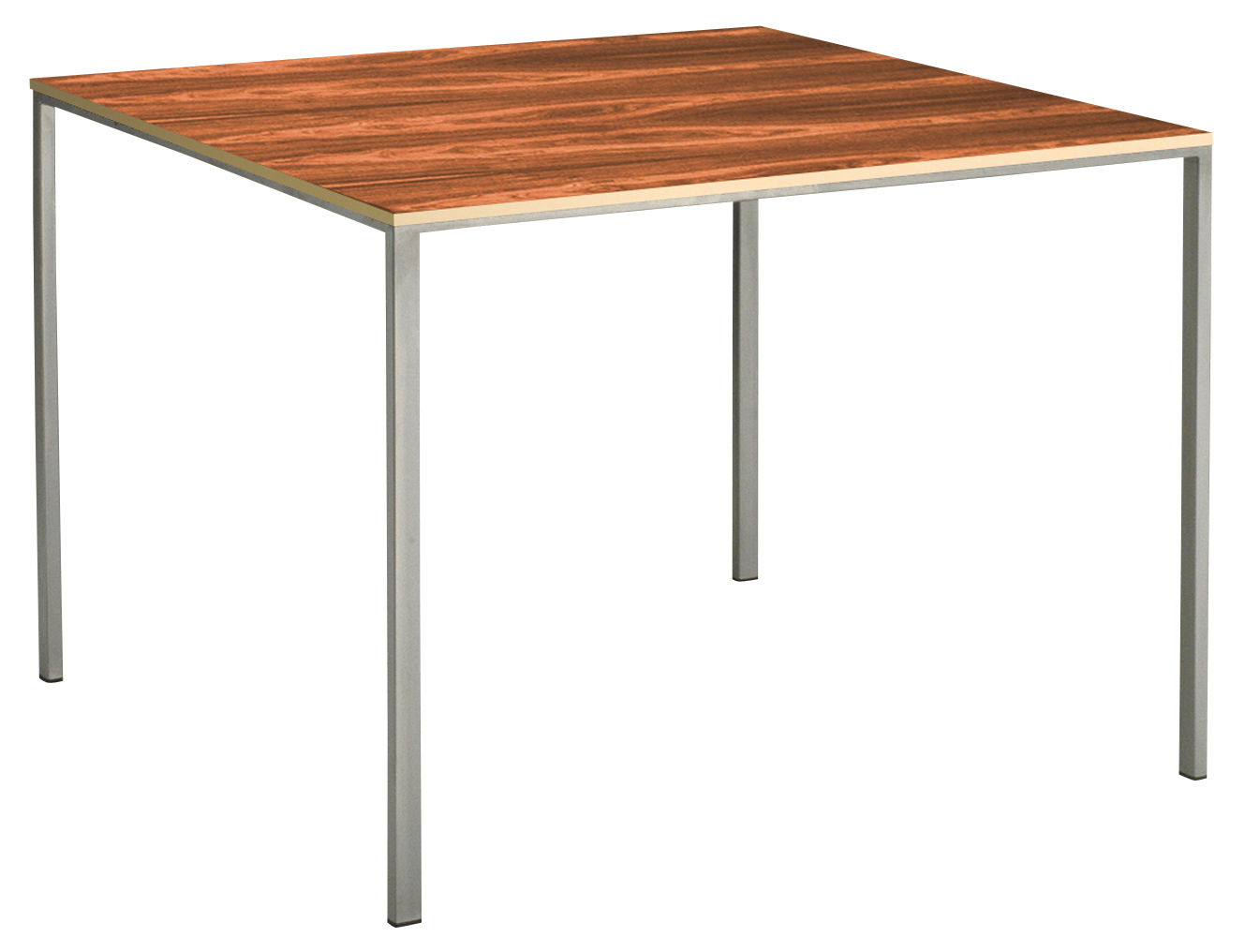Table mini tavolo inox bois 120 x 80 cm palissandre - Pied de table telescopique reglable 80 120 cm ...