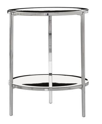 Tambour Couchtisch H 65 cm - Magis - Aluminium poliert