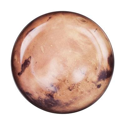 Assiette Cosmic Diner Vénus / Ø 26 cm - Diesel living with Seletti marron,noir en céramique