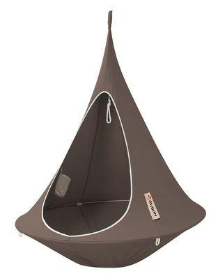 Jardin - Chaises longues et hamacs - Fauteuil suspendu / Tente -Ø 150 cm - 1 personne - Cacoon - Taupe - Toile