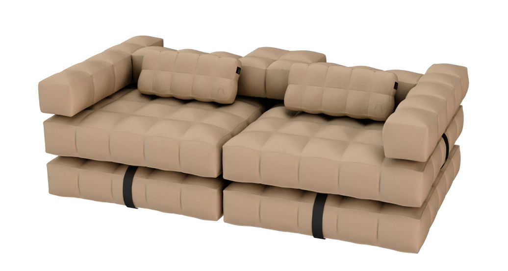 modul 39 air inflatable sofa sunbath l 234 cm sand by. Black Bedroom Furniture Sets. Home Design Ideas