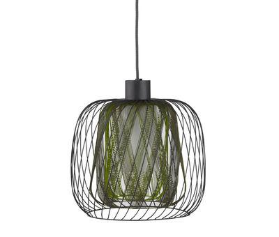 Luminaire - Suspensions - Suspension Bodyless - Ø 23 cm - Forestier - Vert - Métal, Textile