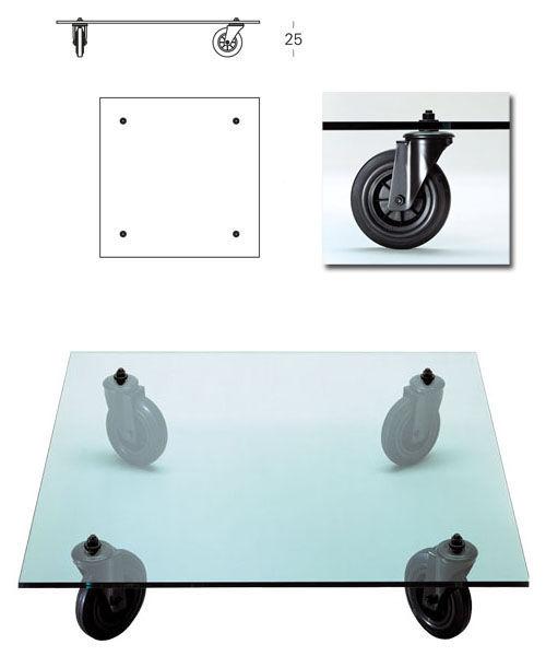 Gae Aulenti Coffee Table 150 X 100 Cm By Fontana Arte