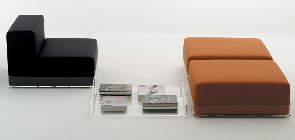 plastics ohne armlehne kartell sofa modulierbar. Black Bedroom Furniture Sets. Home Design Ideas