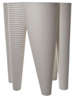 Pot de fleurs The Vases - Serralunga blanc en matière plastique
