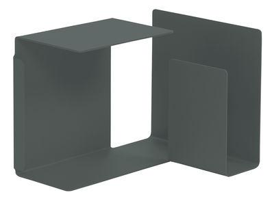 Tavolino Diana C di ClassiCon - Grigio basalto - Metallo