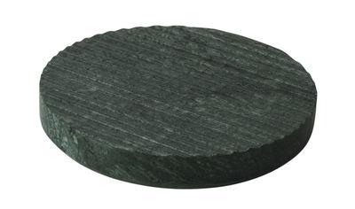 Dessous de plat Dessous de plat Groove Ø16 - Muuto vert en pierre