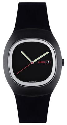 Montre Ray automatique Alessi Watches noir en matière plastique