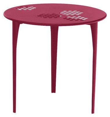Pattern Tisch Ø 80 cm - Emu - Rot