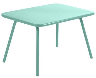 Tavolo bimbi Luxembourg Kid di Fermob - Blu laguna - Metallo