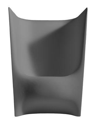 Poltrona Plié di Driade - Grigio chiaro - Materiale plastico