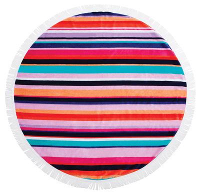 Drap de bain Hamilton / Ø 150 cm - Coton éponge - Sunnylife multicolore en tissu