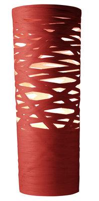 Foto Lampada da tavolo Tress - h 61 cm di Foscarini - Rosso - Materiale plastico