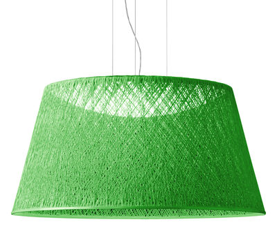 Foto Sospensione Wind - / Ø 60 cm di Vibia - Verde - Materiale plastico