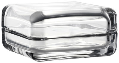 Boîte Vitriini / 11 x 11 cm - Iittala transparent en verre