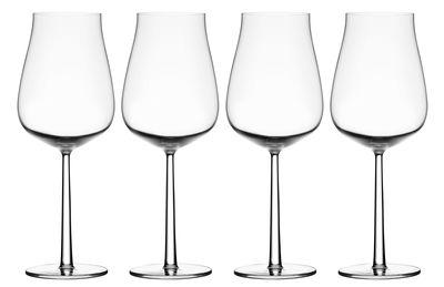 Foto Bicchiere da vino Essence plus / Set da 4 - 65 cl - Iittala - Trasparente - Vetro