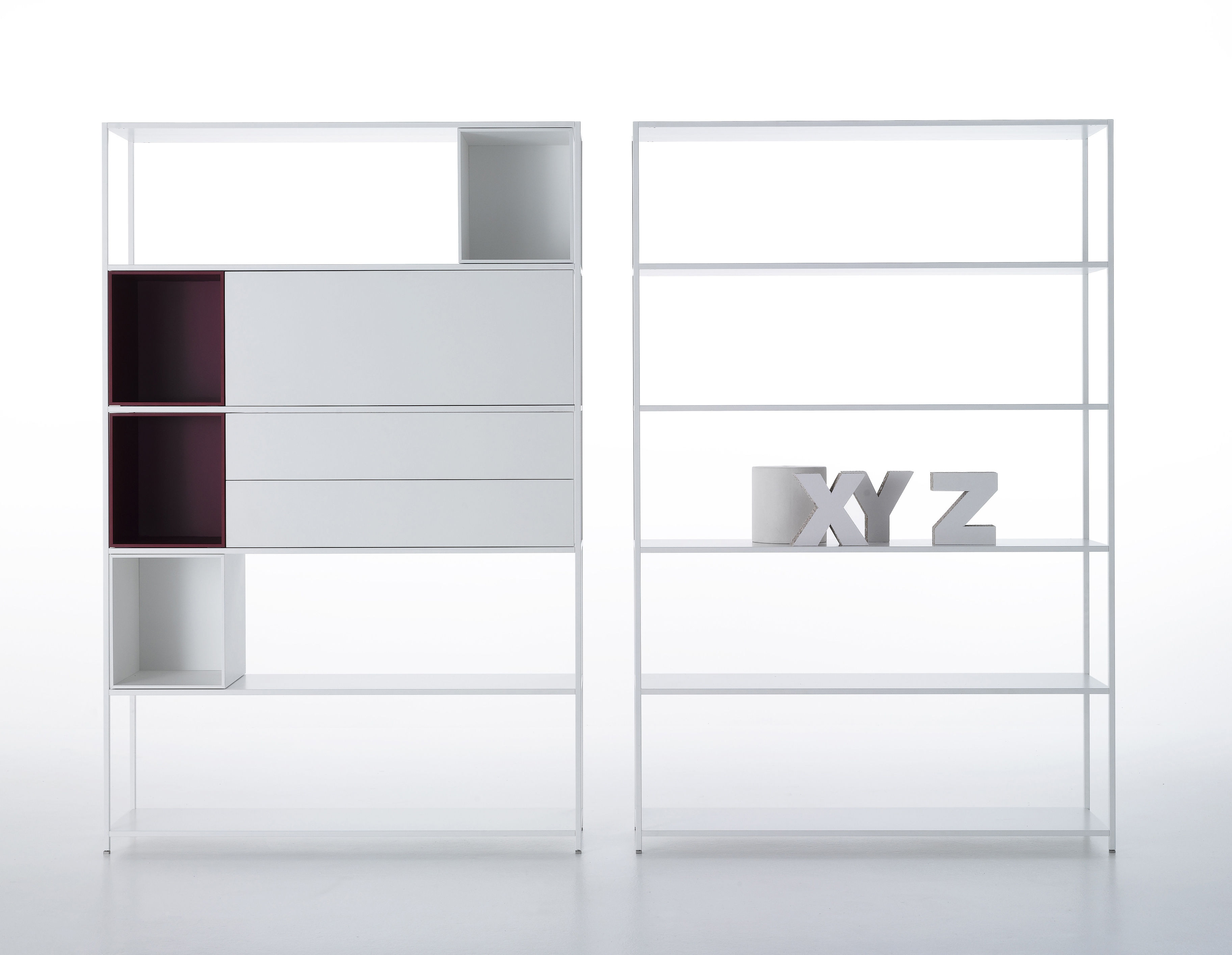 Wonderful image of  Furniture > Shelves & bookcases > Minima 3.0 Bookcase by MDF It  with #291A21 color and 3649x2830 pixels