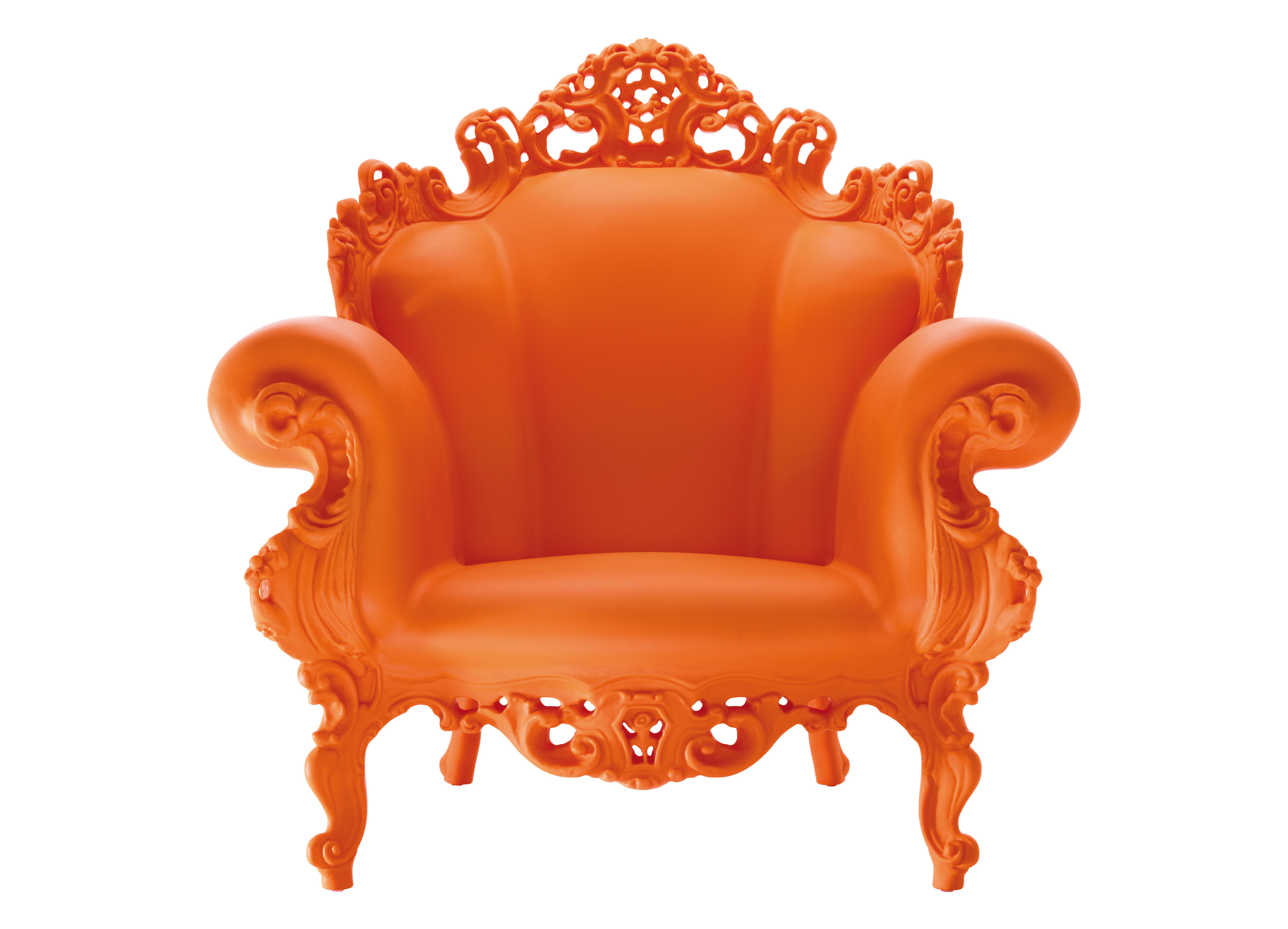 magis proust armchair orange by magis
