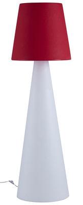 Pivot Stehleuchte - Slide - Weiß,Rot