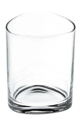 Tavola - Bicchieri  - Bicchiere da acqua Colombina di Alessi - Cristallo trasparente -  H 9 cm - Vetro