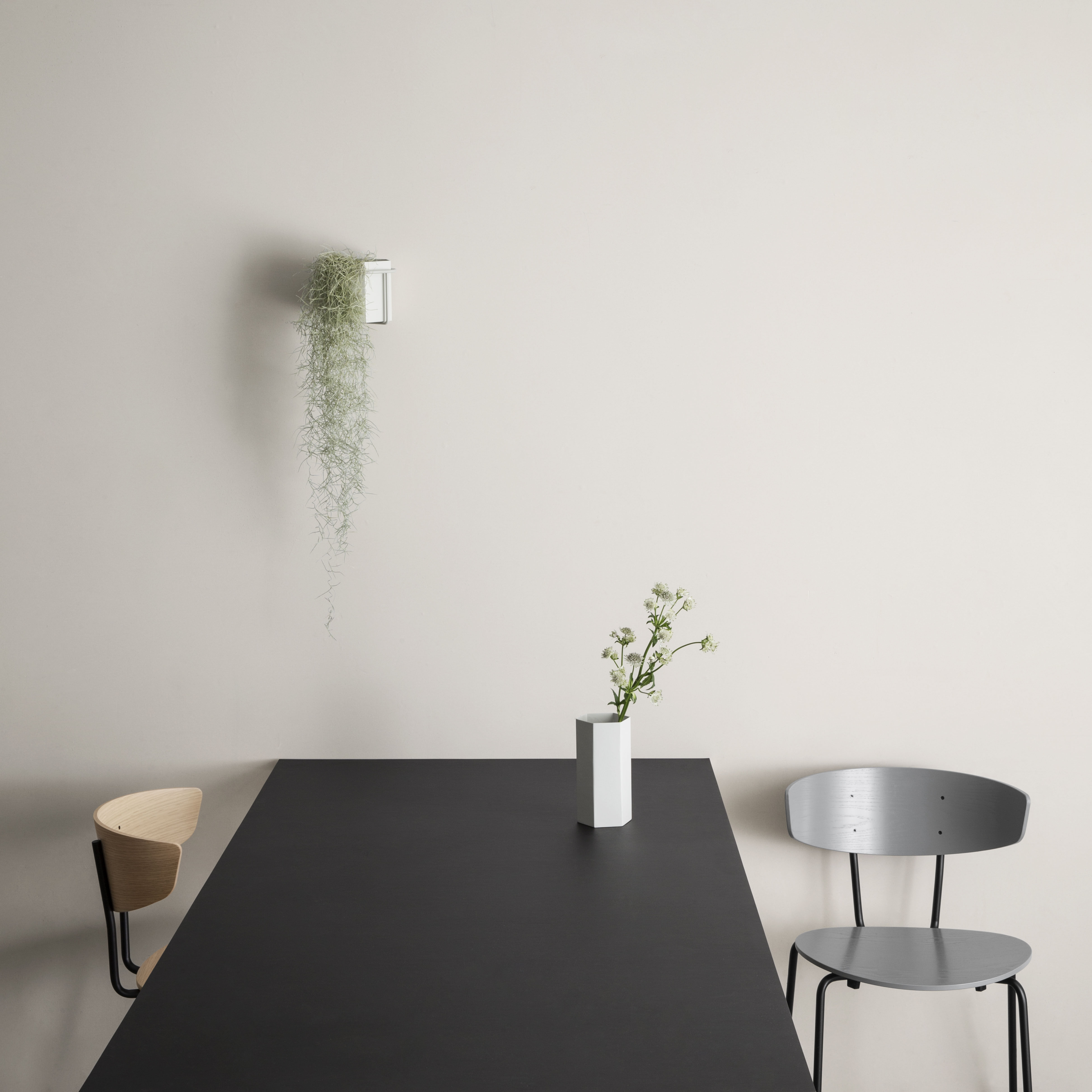 plant wandhalterung f r blument pfe grau by ferm living made in design. Black Bedroom Furniture Sets. Home Design Ideas