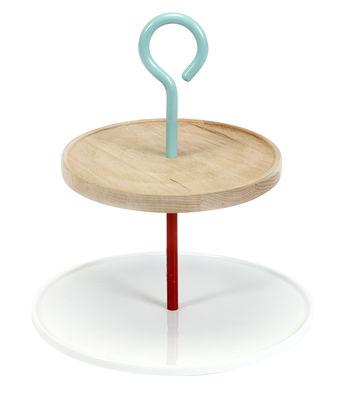 Serviteur My Jansen+co / Bois & porcelaine - Serax blanc,bleu,rouge,bois en céramique