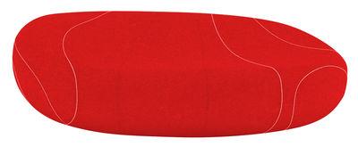 Divano destro Gilda - Livingstones Laine - / Per l'interno - 200x140 cm di Smarin - Rosso - Tessuto