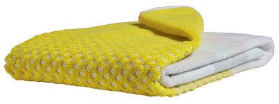 Accessoires - Accessoires salle de bains - Drap de bain Autom Yellow / 140 x 70 cm - Hay - Jaune - Coton
