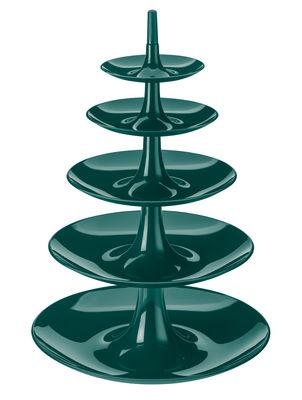 Serviteur Babell XXL / Ø 38 x H 53 cm - Koziol vert sapin en matière plastique