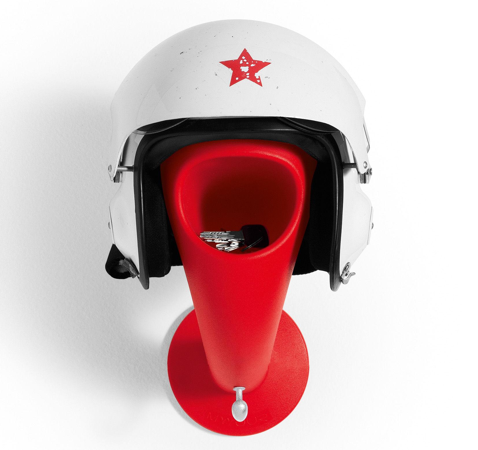 Pat re crazy head porte casque vide poche rouge myyour - Porte casque audio ...