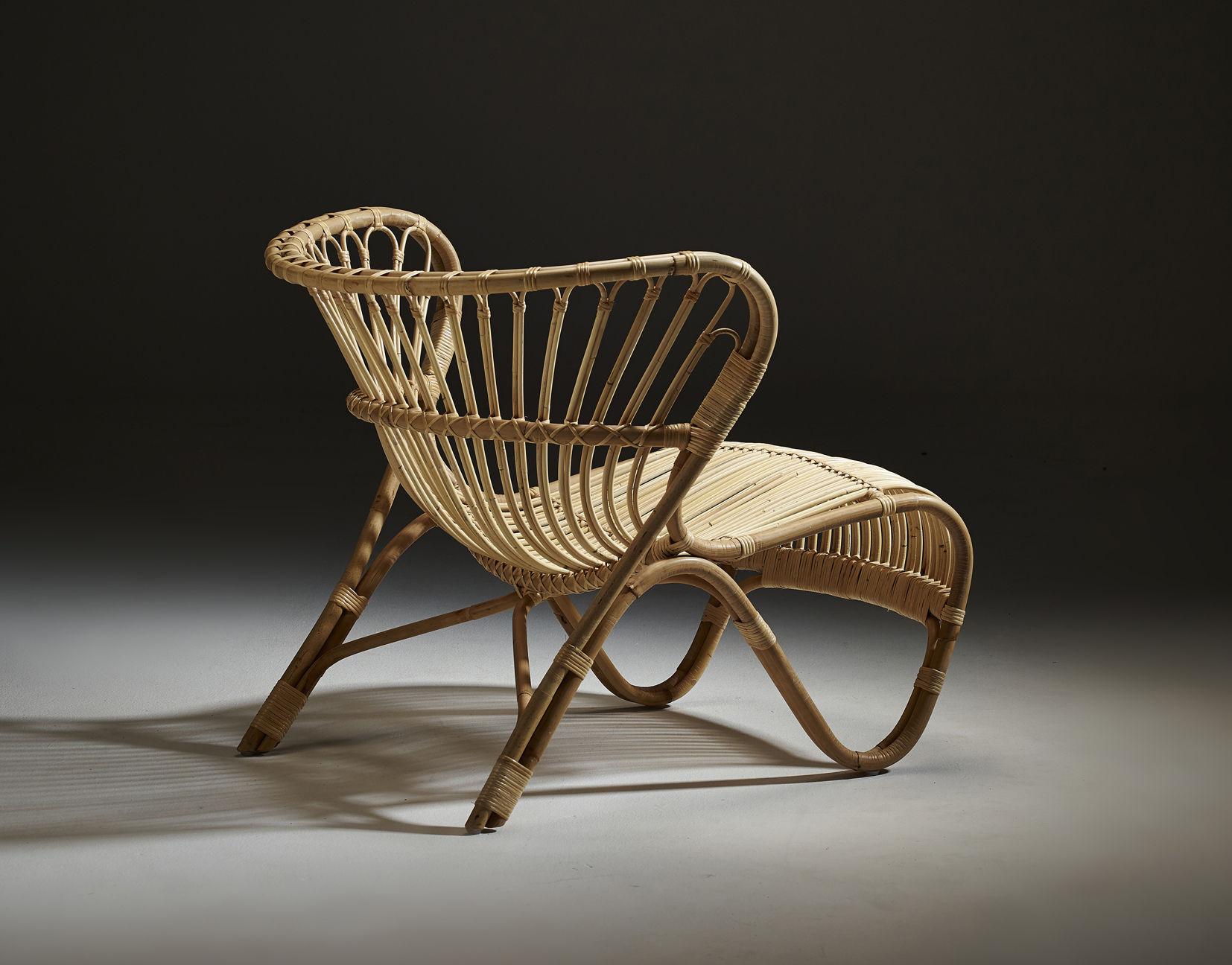 fauteuil fox lounge r dition 1936 naturel sika design. Black Bedroom Furniture Sets. Home Design Ideas