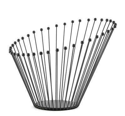 Déco - Corbeilles, centres de table, vide-poches - Corbeille Bloom / Ø 35 cm x H 34,5 cm - Incipit - Anthracite - Acier