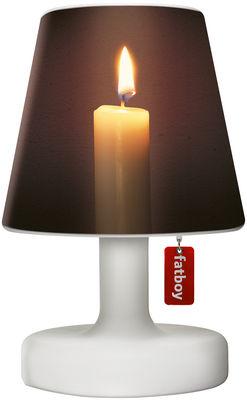 Abat-jour Cooper Cappie / Pour lampe Edison the Petit - Fatboy marron,beige en matière plastique