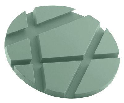 Dessous de plat SmartMat / Support Smartphones et tablettes - Eva Solo vert granit en matière plastique